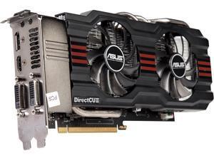 ASUS GeForce GTX 660 Ti DirectX 11 GTX660 TI-DC2-2GD5 2GB 192-Bit GDDR5 PCI Express 3.0 x16 HDCP Ready SLI Support Video Card