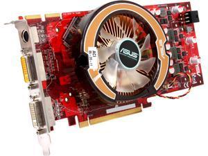 ASUS Radeon HD 4850 DirectX 10.1 EAH4850/HTDI/1GD3/A 1GB 256-Bit DDR3 PCI Express 2.0 x16 HDCP Ready CrossFireX Support Video Card