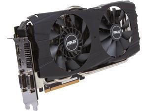 ASUS Radeon R9 290X DirectX 11.2 R9290X-DC2OC-4GD5 4GB 512-Bit GDDR5 PCI Express 3.0 HDCP Ready CrossFireX Support Video Card