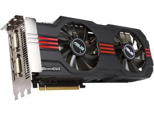 ASUS Radeon HD 6970 DirectX 11 EAH6970 DCII/2DI4S/2GD5 2GB 256-Bit GDDR5 PCI Express 2.1 x16 HDCP Ready CrossFireX Support Video Card