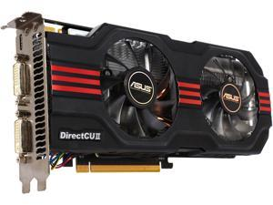 ASUS GeForce GTX 560 Ti (Fermi) DirectX 11 ENGTX560 TI DC2 TOP/2DI/2GD5 2GB 256-Bit GDDR5 PCI Express 2.0 x16 HDCP Ready SLI Support Video Card