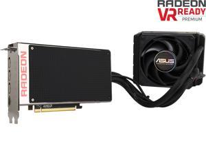ASUS Radeon R9 Fury X DirectX 12 R9FURYX-4G 4GB 4096-Bit HBM PCI Express 3.0 HDCP Ready CrossFireX Support Video Card