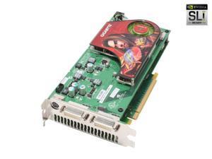 GIGABYTE GeForce 7950GX2 DirectX 9 GV-3D1-7950-RH 1GB (512MB x2) 512-bit (256-bit x2) GDDR3 PCI Express x16 SLI Support Dual GPU Video Card