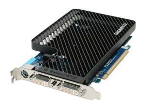 GIGABYTE Radeon HD 2600XT DirectX 10 GV-RX26T256H 256MB 128-Bit GDDR3 PCI Express x16 HDCP Ready CrossFireX Support Video Card