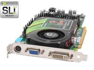 GIGABYTE GeForce 6800GS GV-NX68G256D-B Video Card