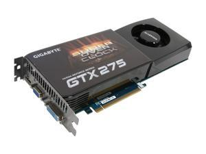 GIGABYTE GeForce GTX 275 GV-N275SO-18I Video Card