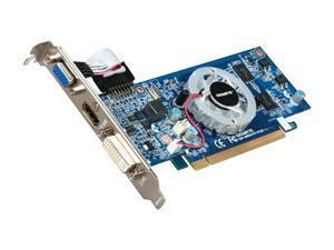 GIGABYTE GeForce 8400 GS GV-N84STC-512I Video Card