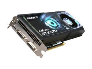GIGABYTE GeForce GTX 570 (Fermi) GV-N570D5-13I-B Video Card