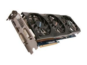 GIGABYTE Radeon HD 6970 DirectX 11 GV-R697OC-2GD 2GB 256-Bit GDDR5 PCI Express 2.1 x16 HDCP Ready CrossFireX Support Video Card with Eyefinity