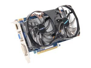 GIGABYTE GeForce GTX 550 Ti (Fermi) GV-N550WF2-1GI Video Card