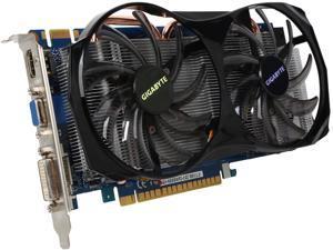 GIGABYTE GeForce GTX 550 Ti (Fermi) DirectX 11 GV-N550WF2-1GI 1GB 192-Bit GDDR5 PCI Express 2.0 x16 HDCP Ready SLI Support Video Card