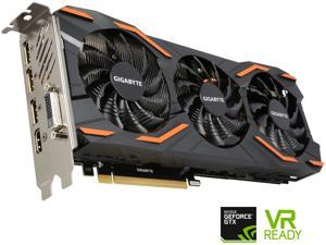 GIGABYTE GeForce GTX 1080 DirectX 12 GV-N1080D5X-8GD 8GB 256-Bit GDDR5X PCI Express 3.0 x16 ATX Video Cards