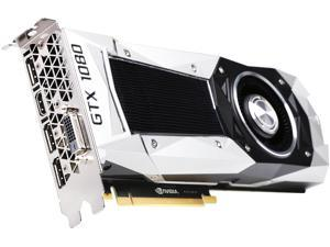 ASUS GeForce GTX 1080 FE DirectX 12 GTX1080-8G 8GB 256-Bit GDDR5X PCI Express 3.0 HDCP Ready SLI Support Video Card Founders Edition