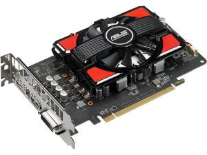 ASUS Radeon RX 550 4G GDDR5 DP HDMI DVI AMD Graphics Card (RX550-4G)
