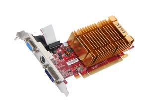 MSI Radeon HD 2400PRO RX2400PRO-TD256EH Video Card