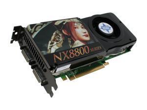 MSI GeForce 8800GTS (G92) NX8800GTS-T2D512E OC Video Card