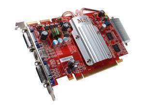 MSI Radeon HD 2600XT DirectX 10 RX2600XT-T2D256EZ 256MB GDDR3 PCI Express x16 HDCP Ready CrossFireX Support Video Card