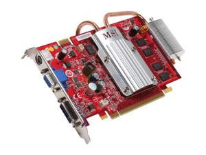 MSI GeForce 8600 GT NX8600GT-TD1GEZ Video Card