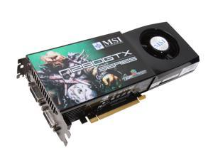 MSI GeForce GTX 280 N280GTX-T2D1G OC Video Card