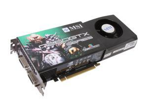 MSI GeForce GTX 260 N260GTX-T2D896 OC Video Card