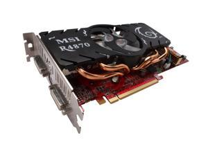 MSI Radeon HD 4870 R4870-T2D1G Video Card