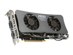 MSI GeForce GTX 260 N260GTX-Lightning Black Edition Video Card