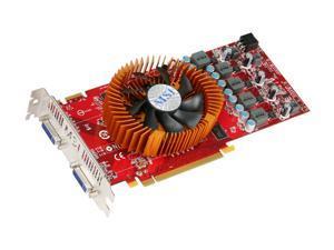 MSI Radeon HD 4850 DirectX 10.1 R4850-2D1G OC 1GB 256-Bit DDR3 PCI Express 2.0 x16 HDCP Ready CrossFireX Support Video Card