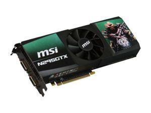 MSI GeForce GTX 295 N295GTX-2D1792 Video Card