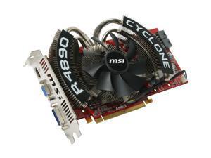 MSI Radeon HD 4890 R4890 Cyclone OC Video Card