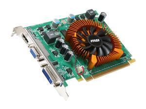 MSI GeForce GT 220 VN220GT-MD1G Video Card