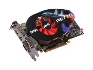 MSI Radeon HD 5770 (Juniper XT) R5770-PM2D1G OC/Seaweed Video Card