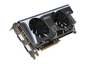 MSI GeForce GTX 470 (Fermi) DirectX 11 N470GTX Twin Frozr II 1280MB 320-Bit GDDR5 PCI Express 2.0 x16 HDCP Ready SLI Support Video Card