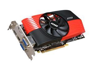 MSI Radeon HD 6850 DirectX 11 R6850-PM2D1GD5 1GB 256-Bit GDDR5 PCI Express 2.0 x16 HDCP Ready CrossFireX Support Video Card with Eyefinity