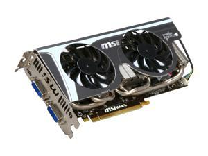 MSI GeForce GTX 460 (Fermi) N460GTX Hawk Talon Attack Video Card