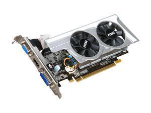 MSI GeForce GT 430 (Fermi) DirectX 11 N430GT-MD1GD3 OC/TF 1GB 128-Bit DDR3 PCI Express 2.0 x16 HDCP Ready Low Profile Ready Video Card