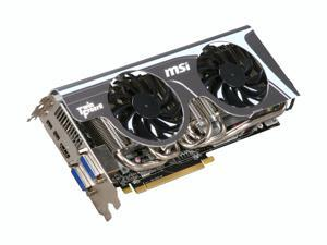 MSI Radeon HD 6870 R6870 Twin Frozr II Video Card with Eyefinity