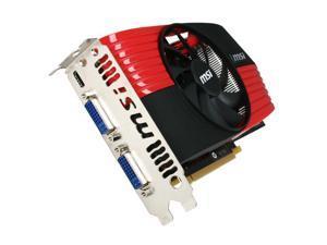 MSI GeForce GTX 460 (Fermi) N460GTX -M2D1GD5/OC Video Card