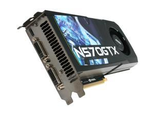MSI GeForce GTX 570 (Fermi) N570GTX-M2D12D5 Video Card
