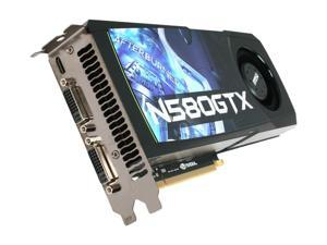 MSI GeForce GTX 580 (Fermi) N580GTX-M2D15D5OC Video Card