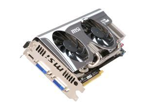 MSI GeForce GTX 580 (Fermi) N580GTX Twin Frozr II/OC Video Card