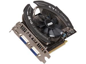 MSI GeForce GTX 550 Ti (Fermi) N550GTX-Ti Cyclone OC Video Card