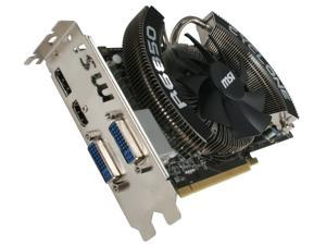 MSI Radeon HD 6850 R6850 Cyclone PE Video Card with Eyefinity