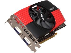 MSI GeForce GTX 550 Ti (Fermi) N550GTX-Ti-M2D1GD5/OC Video Card