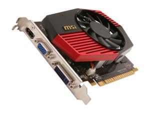 MSI GeForce GT 430 (Fermi) N430GT-MD1GD3/OC Video Card