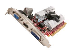 MSI GeForce GT 520 (Fermi) N520GT-MD1GD3/LP Video Card