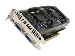 MSI GeForce GTX 560 (Fermi) N560GTX-M2D1GD5 Video Card
