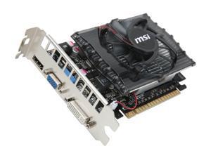 MSI GeForce GT 430 (Fermi) DirectX 11 N430GT-MD2GD3 2GB 128-Bit DDR3 PCI Express 2.0 x16 HDCP Ready Video Card