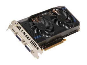 MSI GeForce GTX 560 Ti (Fermi) N560GTX-Ti-M2D1GD5/OC Video Card
