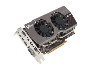 MSI Radeon HD 7850 R7850 Twin Frozr 2GD5/OC Video Card