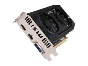 MSI Radeon HD 7750 R7750-PMD1GD5/OC Video Card